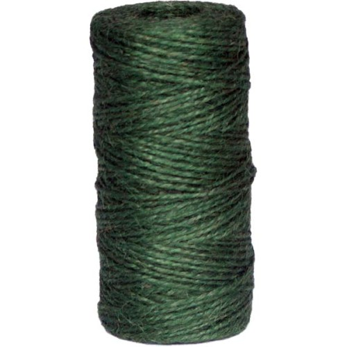 2ply green jute spool