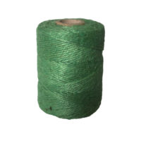 3 Ply Jute Spool Green