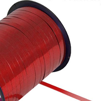 Metallic Curling Ribbon Red
