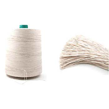 Labelling-cotton-spool-cut-lengths