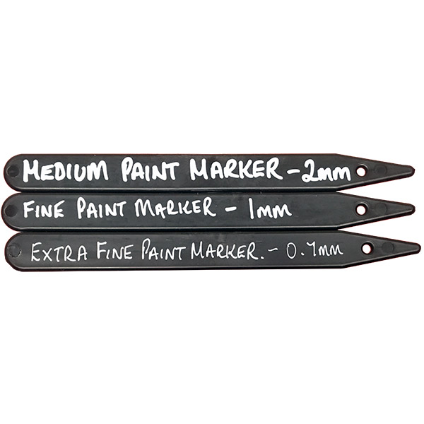 Paint Marker Sizes - Example