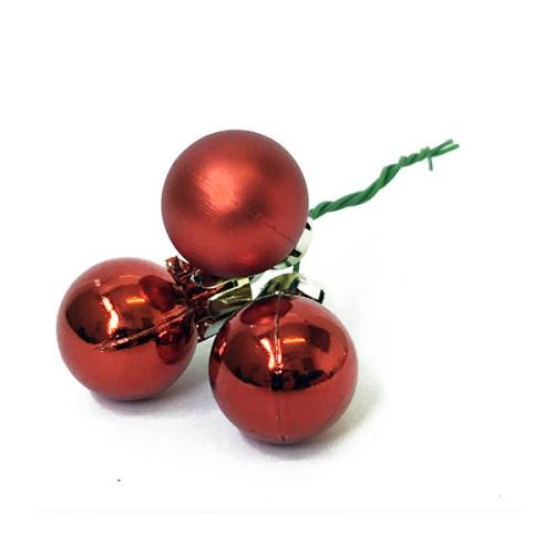 Red Christmas Ball Pick
