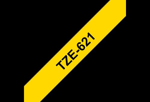 TZe621_Black_on_yellow