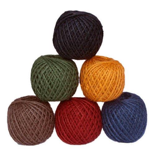 Coloured Jute Twine