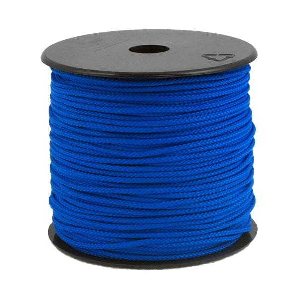 Coloured Polypropylene Cord Blue