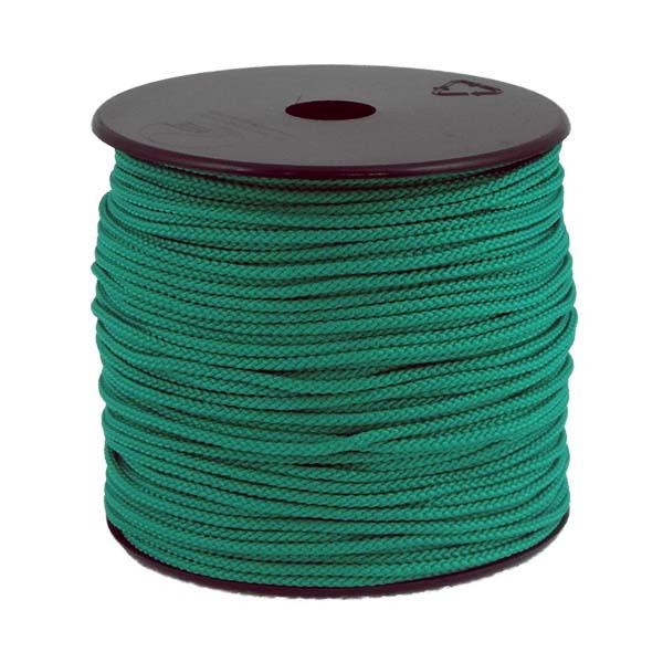 Coloured Polypropylene Cord Green