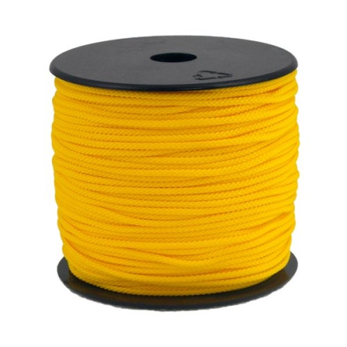 Coloured Polypropylene Cord Yellow