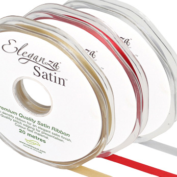 Eleganza Satin Ribbon 6mm