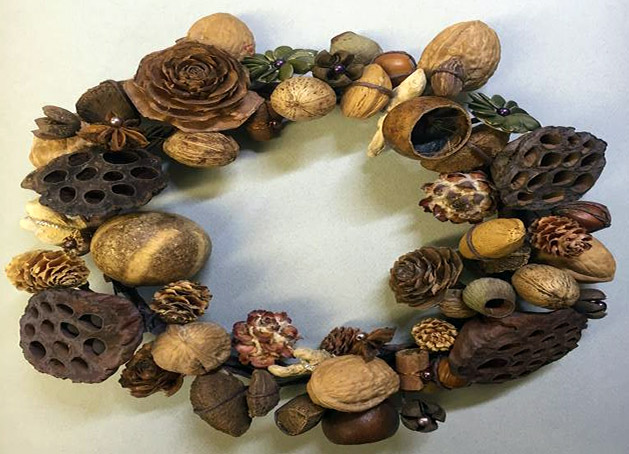 Dried Pod wreath