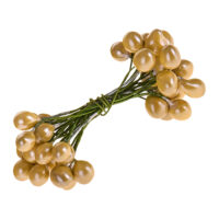 Wired Gold Berries