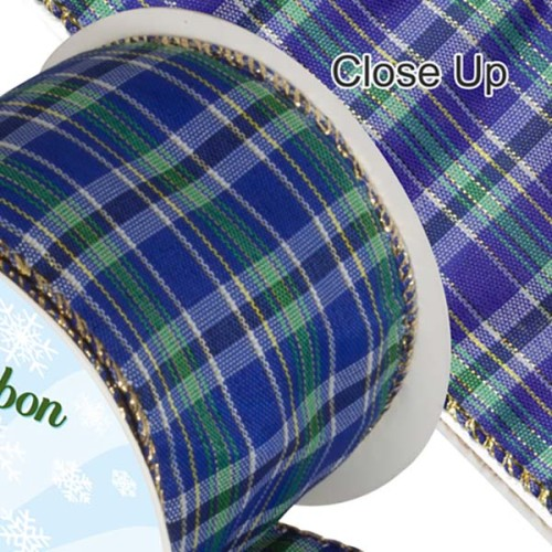 Wired_Edge-Tartan-Ribbon - Blue