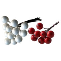 Red or white posy berry pick