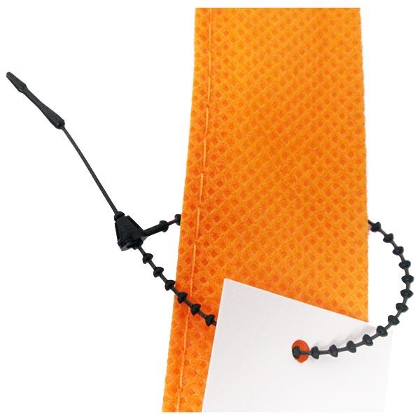 Black Beaded Ties