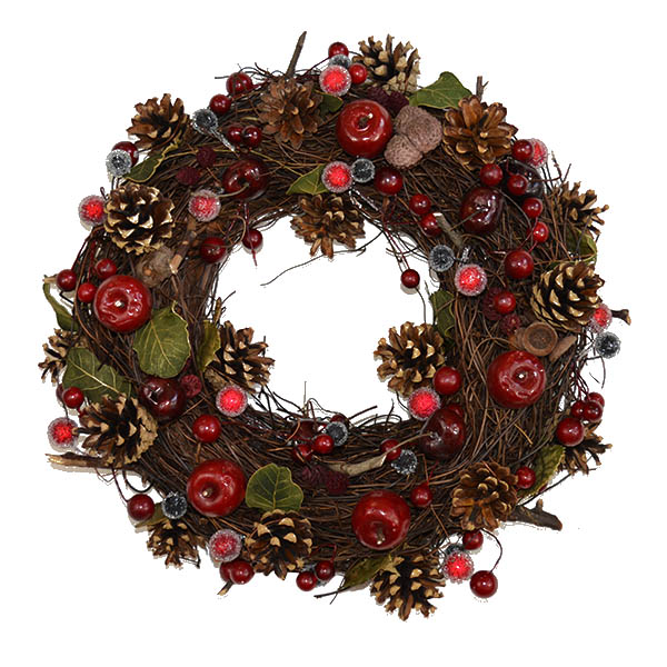 christmas-wreath-apple-berry