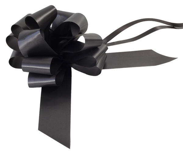 Black Pull Bow