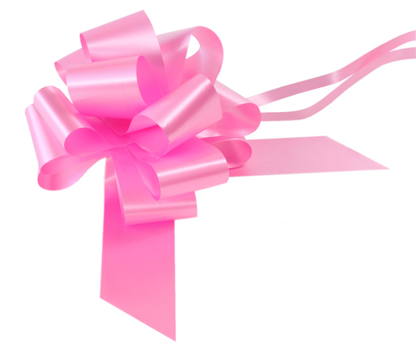 Pink Pull Bow