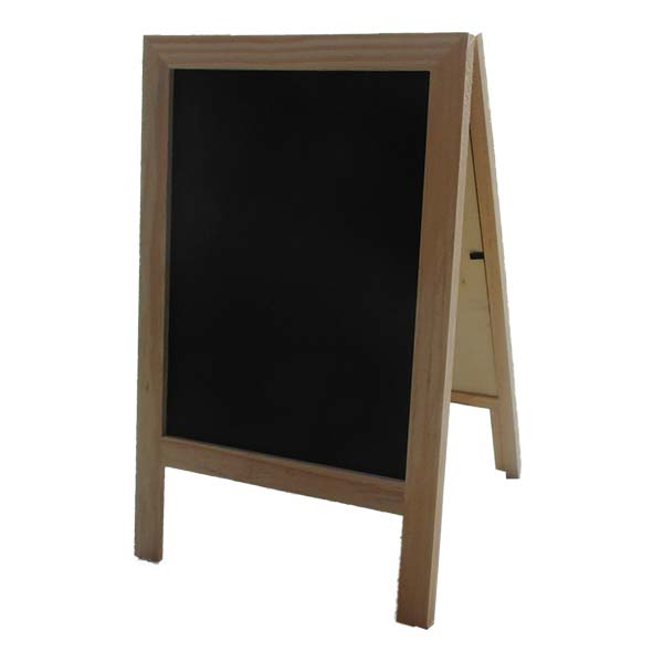 Wooden A Frame Chalk Board