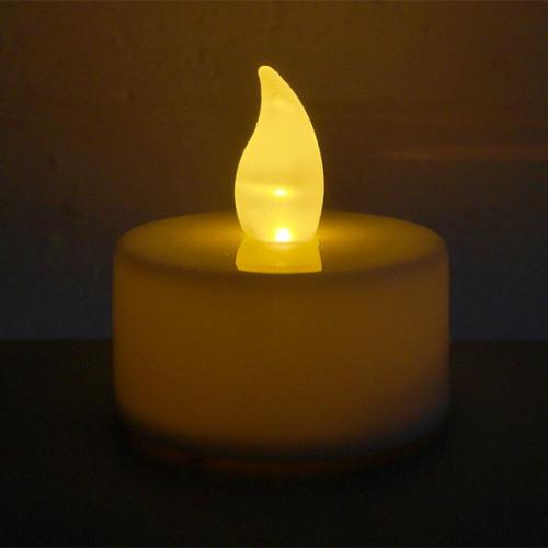 LED Flickering Candle Tea Light
