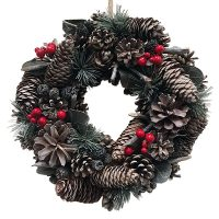 Red Berry Wreath | The Essentials Company