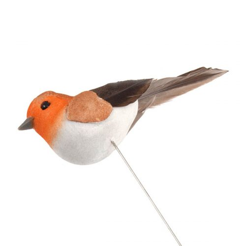 Wired Christmas Robin Pick