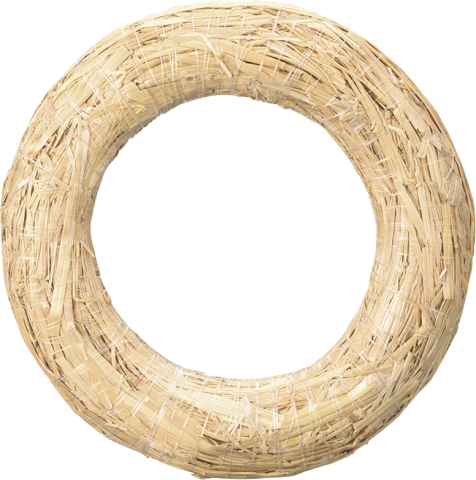 Straw Wreath Ring