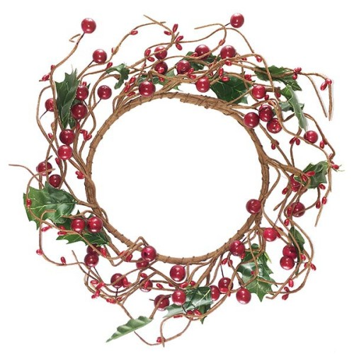 Berry Wreath - Red - The Essentials Company