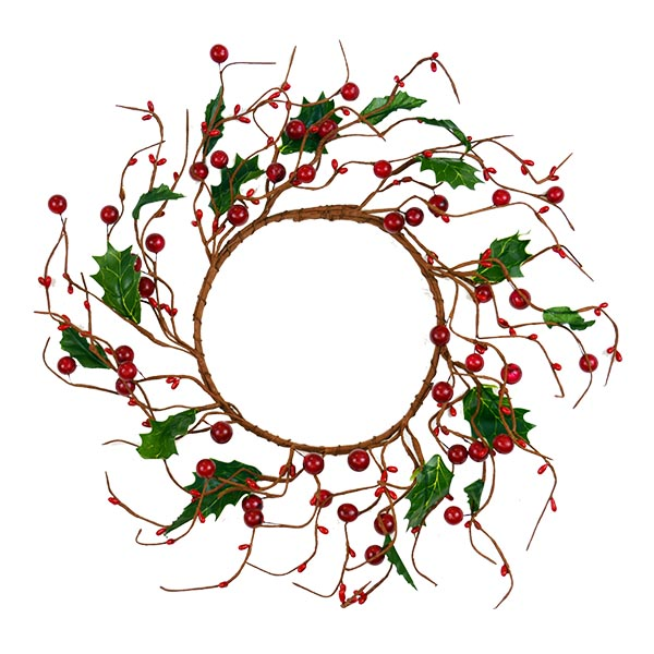 Red Berry Wreath - The Essentials Company