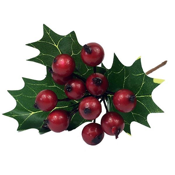 Ilex Christmas Berry Pick - Red