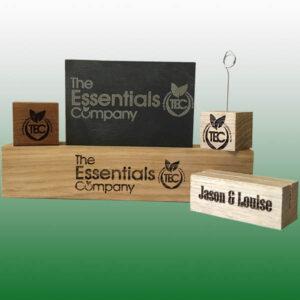 Wood & Slate Laser Engraving Service