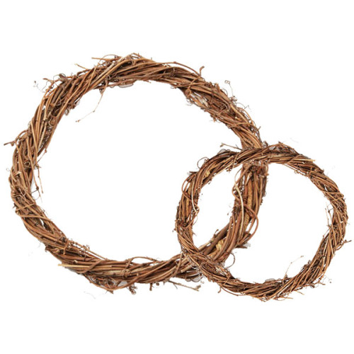 Narrow Vine Wreath Ring - The Essentials Company