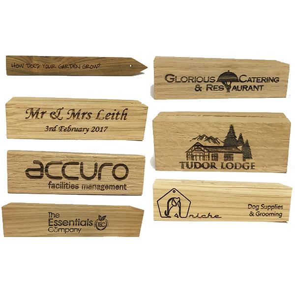 Laser Engraved Holders & Labels