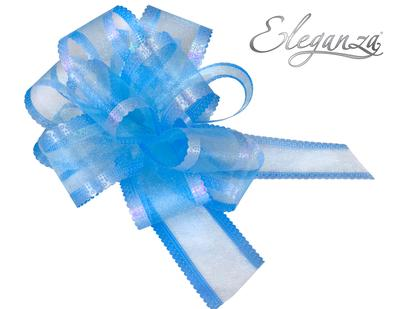 Blue Pull Bow