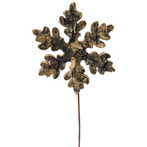 Birch Snowflake Pick