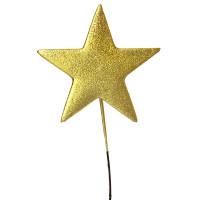 Gold Metallic Star Pick
