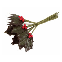 Holly Leaves & Red Berry Pick