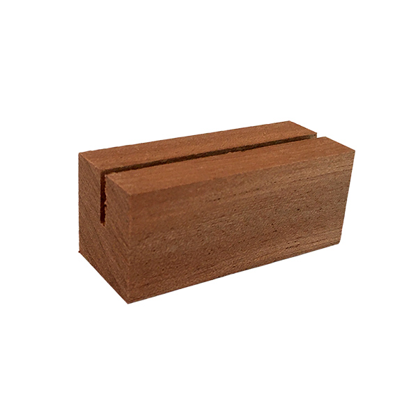 Wooden Card Stand