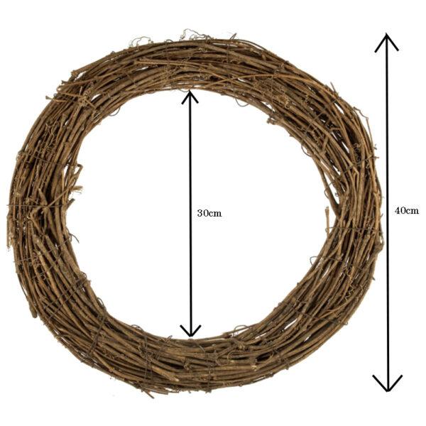 Wreath Base Dimensions 40cm